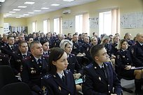 ВБольших Вязёмах прошло ежеквартальное совещание Управления МВД России поОдинцовскому городскому округу