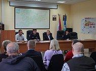 Сотрудники Одинцовского ОГИБДД провели совещание дляработников автотранспортных предприятий
