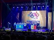 Ватерполисты изОдинцово заняли третье место всоставе сборной Московской области намеждународном турнире