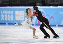 Одинцовские фигуристы выиграли золотую медаль юношеской Олимпиады вШвейцарии