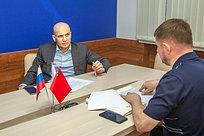 Дмитрий Голубков провел личный прием граждан