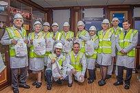 Участники клуба «Активное Долголетие» посетили сэкскурсией фабрику «Коркунов»