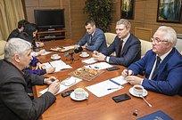 Андрей Иванов провел встречу слидерами политических партий Одинцовского городского округа