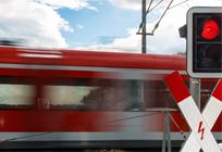 Ограничение движения пожелезнодорожному переезду