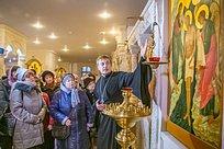 Крещенская встреча врамках проекта «Активное долголетие» прошла вСоборе Георгия Победоносца
