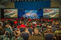 Слет юнармейцев Одинцовского округа прошел вволейбольном центре
