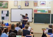 Звенигородские школьники посетили «Урок доброты» Михаила Диктованного