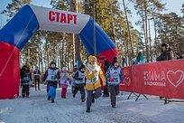 Порядка 300 человек приняли участие впервом фестивале зимних видов спорта впарке «Раздолье»