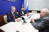 Вопрос газификации деревни Асаково обсудили наличном приеме главы Одинцовского округа