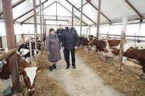 Андрей Иванов посетил Крестьянско-фермерское хозяйство вЕршово