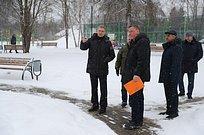Андрей Иванов проверил качество комплексного благоустройства вдеревне Фуньково