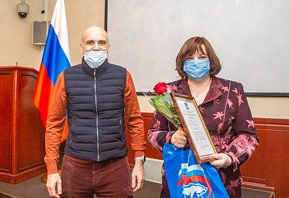 Дмитрий Голубков провел встречу сволонтерами Новоивановского