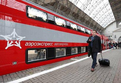 График движения поездов «Аэроэкспресс» изменится вянваре
