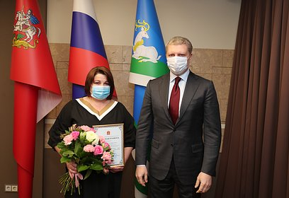 Андрей Иванов поздравил одинцовских энергетиков спрофессиональным праздником
