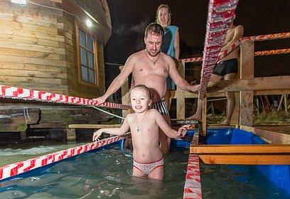 ВОдинцовском округе открываются крещенские купели