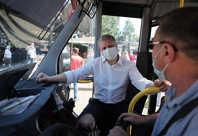Андрей Иванов: Наши пассажиры должны помнить онеобходимости обязательного ношения масок вобщественном транспорте