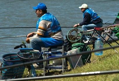 Одинцовская территориальная организация профсоюза жизнеобеспечения провела соревнования порыбной ловле