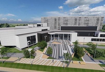 Строительство Дома культуры впоселке Горки-10завершено на70%