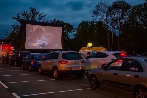 ВОдинцовском парке культуры спорта иотдыха пройдет автомобильный киносеанс 1августа