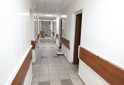 Одинцовскую подстанцию скорой медицинской помощи отремонтировали на60%