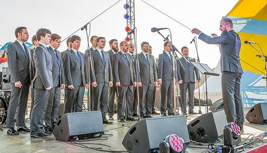 Фестиваль «Весна Победы» стартовал в Одинцово, Хор Сретенского Монастыря