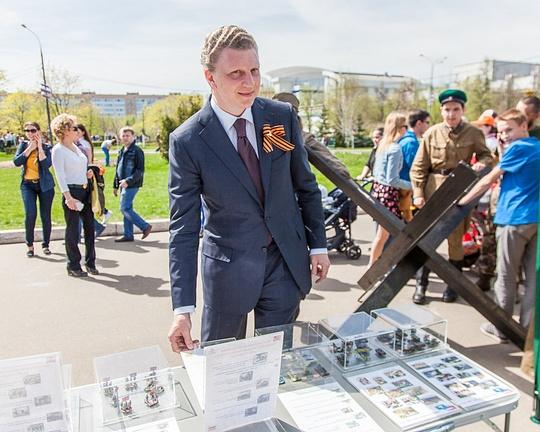 Салют в честь Дня Победы в Одинцово посетило рекордное число зрителей, Андрей ИВАНОВ