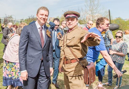 Салют в честь Дня Победы в Одинцово посетило рекордное число зрителей, Андрей ИВАНОВ, Гедиминас ТАРАНДА