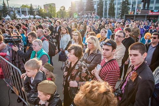 Салют в честь Дня Победы в Одинцово посетило рекордное число зрителей