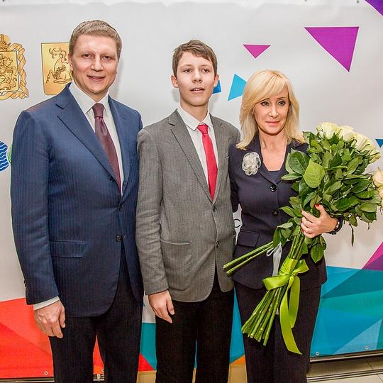 Одарённые школьники Одинцовского района получили премии истипендии отгубернатора иглавы района
