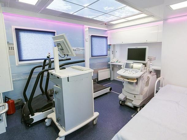 Передвижной комплекс «Мобильный кардиолог» будет открыт в центре Одинцово с с 5 по 7 апреля