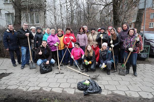 Более 17 тысяч жителей Одинцовского района приняли участие в первом общерегиональном субботнике