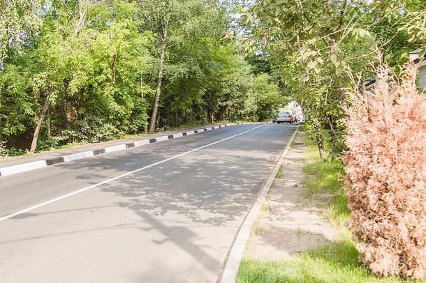 ВНемчиновке завершена комплексная реконструкция улицы Московская, Август