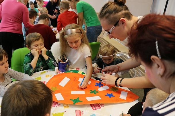 Одинцовские сторонники «Единой России» провели экологический урок длявоспитанников клуба «Изумрудный город», Февраль