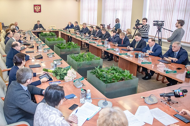4 февраля, в Одинцовском кампусе МГИМО состоялось первое в этом году заседание муниципального Совета депутатов, Февраль