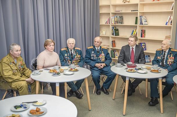 Андрей Иванов провел встречу cКоординационным советом поделам ветеранов, Февраль