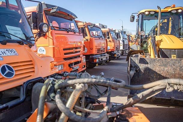 Весенний парад коммунальной техники пройдет 30марта вОдинцовском районе, Март