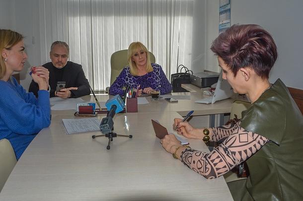 Оксана Пушкина провела личный прием граждан вОдинцово, Март