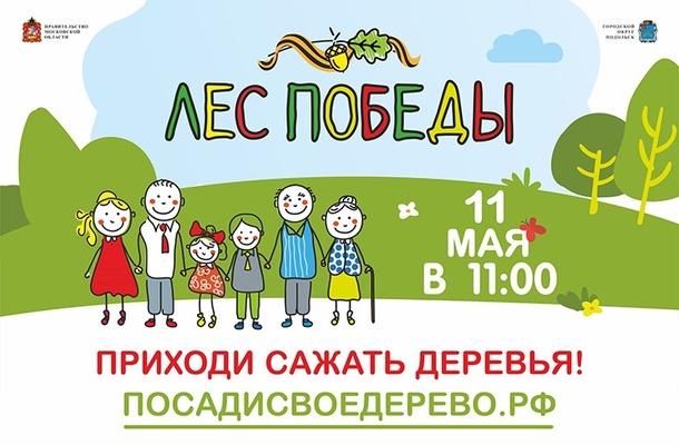 Одинцовский район примет участие в ежегодной экологической акции «Лес Победы», Апрель