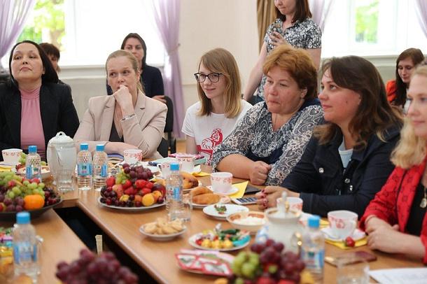 Андрей Иванов провёл встречу сродительскими сообществами Звенигорода, Андрей Иванов провёл встречу сродительскими сообществами Звенигорода