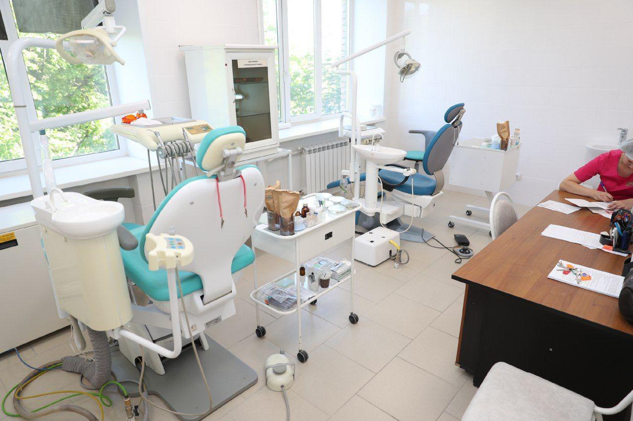 Андрей Иванов посетил Центральную городскую больницу Звенигорода, Андрей Иванов посетил Центральную городскую больницу Звенигорода