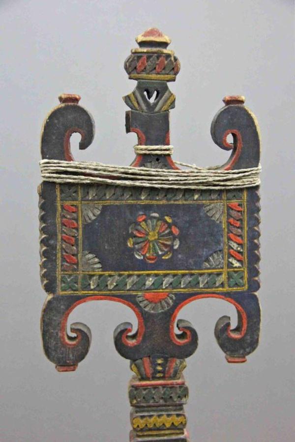 В коллекцию Звенигородского музея поступила оригинальная костромская прялка, Июль