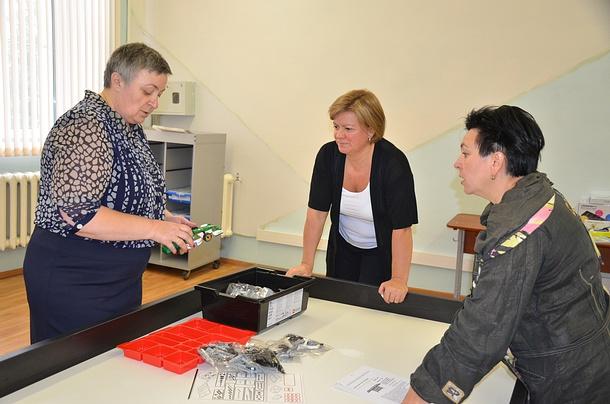 Лариса Лазутина помогла переоснастить кабинеты образовательных учреждений вЗвенигороде, Июль