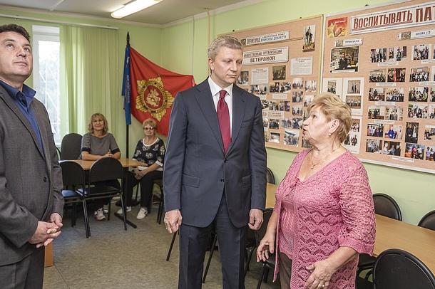 Андрей Иванов провел встречу с Советом ветеранов Звенигорода, Июль