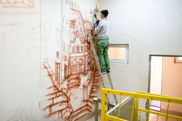 В Одинцовском городском округе пройдет конкурс на лучшее художественное оформление подъездов, Сентябрь