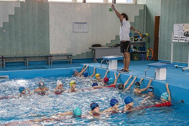 Андрей Иванов посетил Одинцовскую школу Олимпийского резерва, Октябрь
