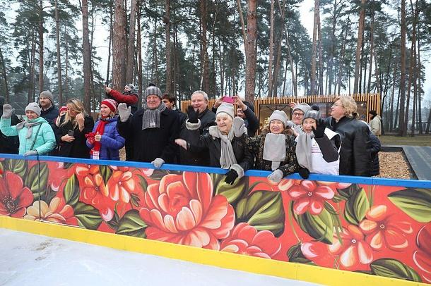 Каток в парке «Раздолье» откроется для всех желающих 28 декабря, Декабрь