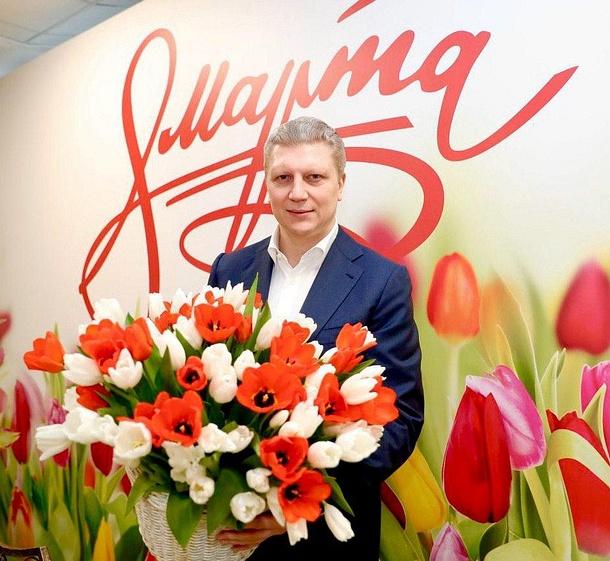 Поздравление главы Одинцовского округа с8марта, Март