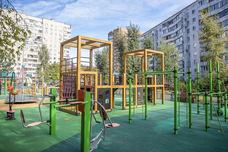 Почти 800 детских площадок снова откроются с1июля вОдинцовском округе
