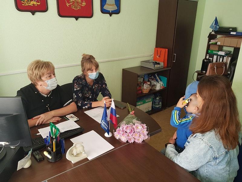 Партийцы провели личный прием граждан вЗвенигороде, Август