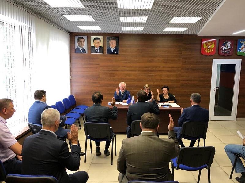 Одинцовские партийцы провели заседание политсовета местного отделения, Август
